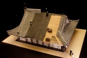 12_姫路城屋根工事模型