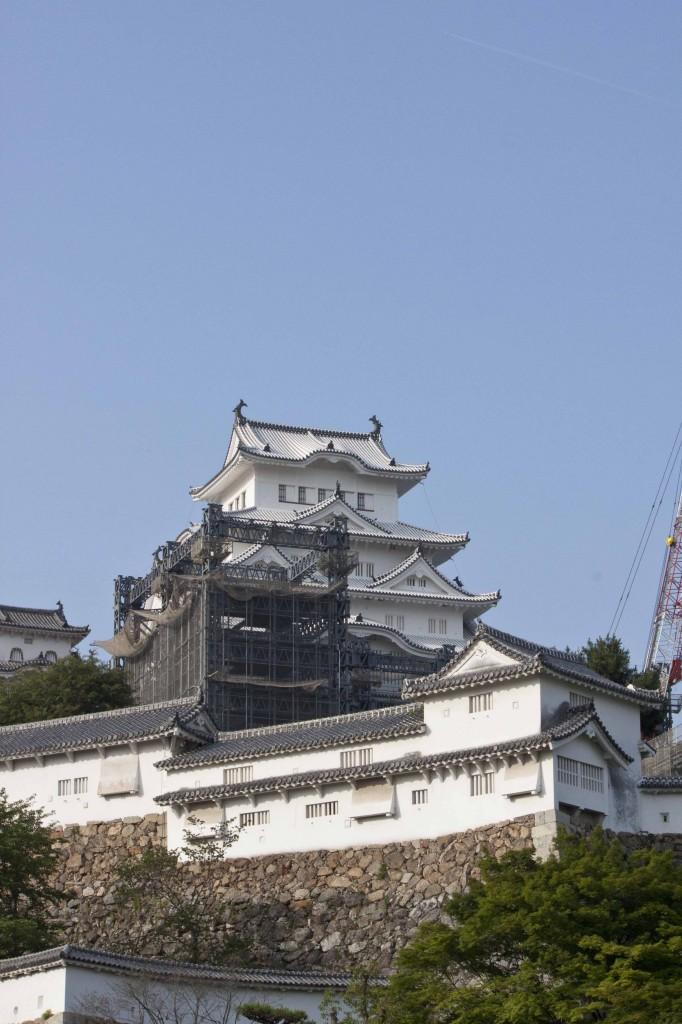 04_姫路城斜景