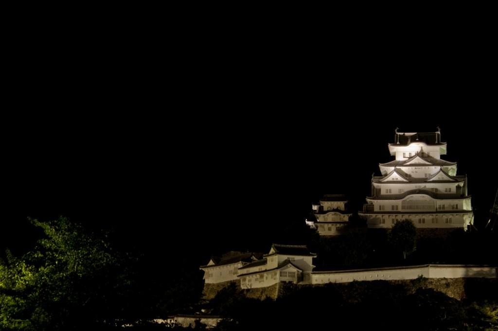 06_闇に浮かぶ姫路城
