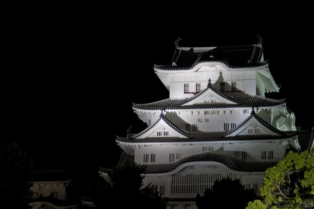 11_姫路城東側斜景