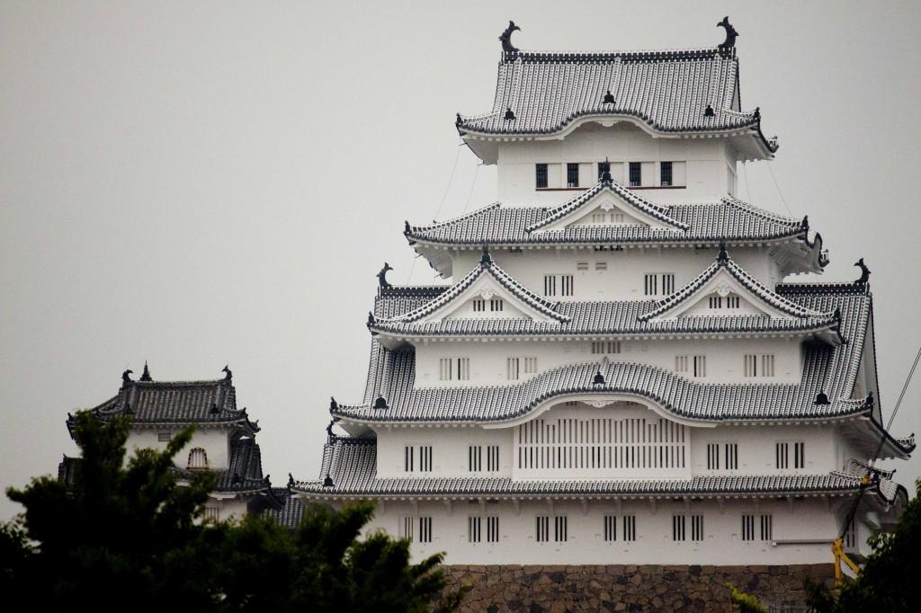 15_姫路城(平日の夕方)