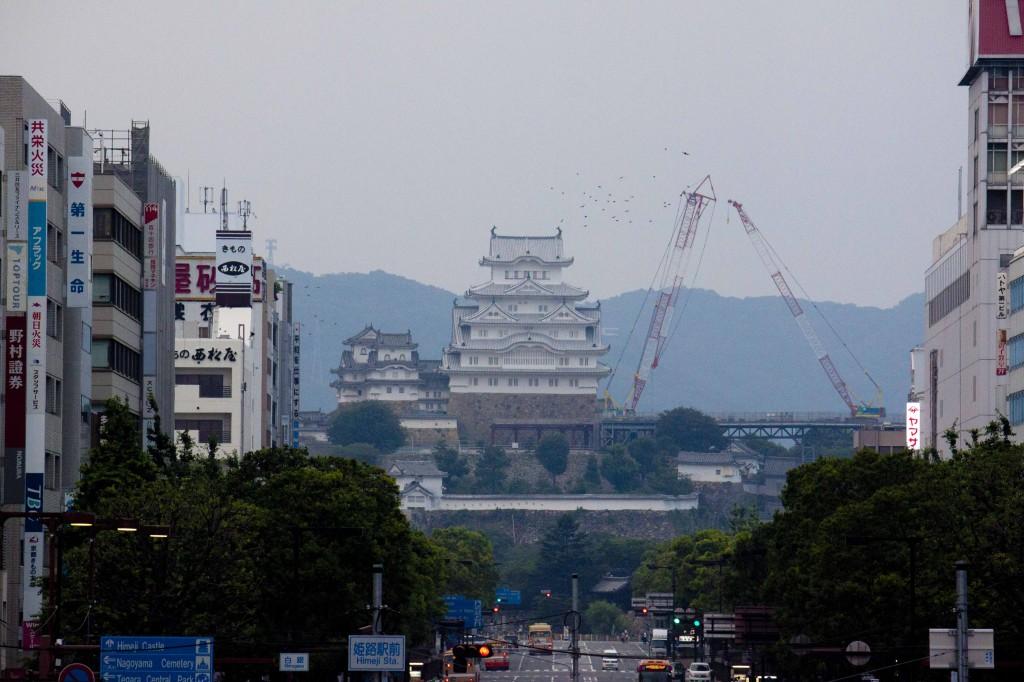 30_城見櫓から姫路城を望む(望遠1)