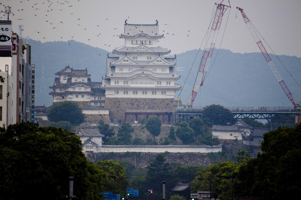 31_城見櫓から姫路城を望む(望遠2)