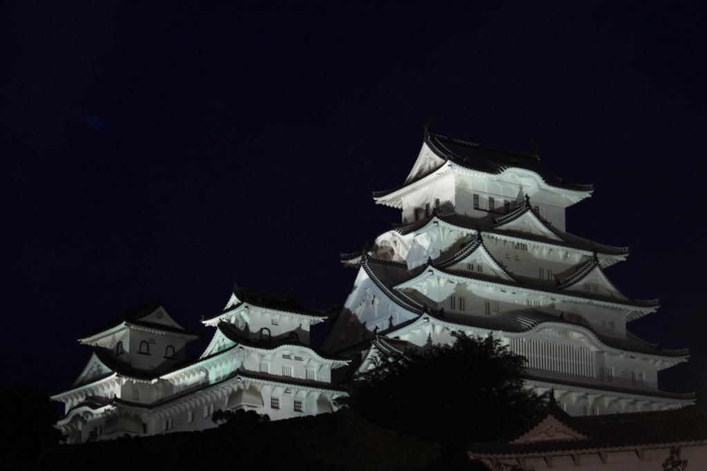 22_22.姫路城斜景・夜景
