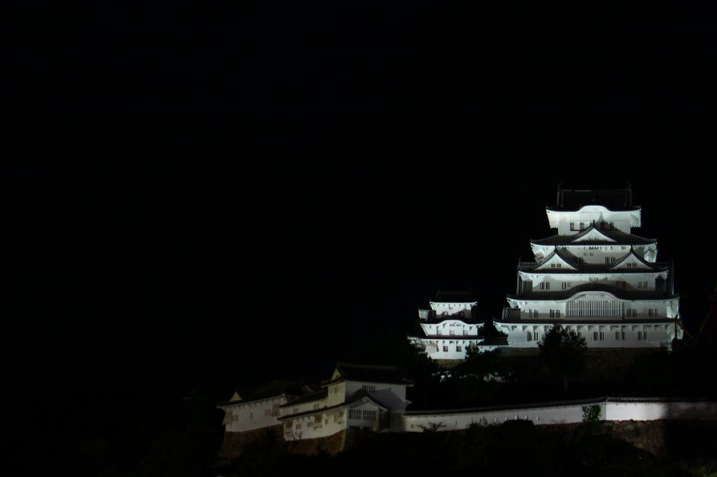 23_23.姫路城正面・夜景1