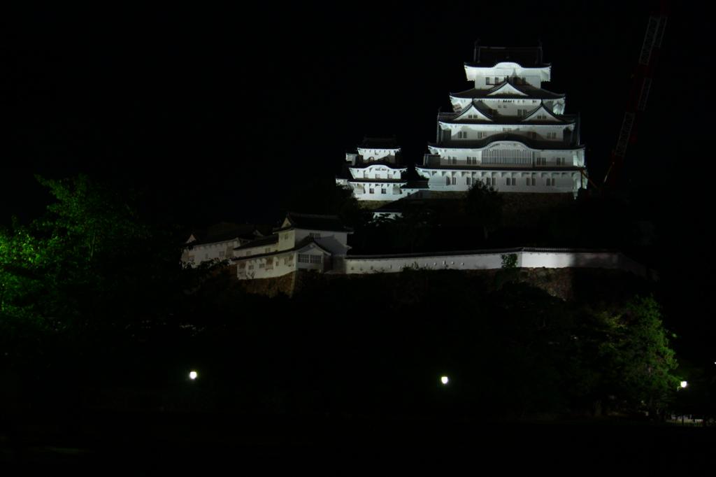 24_24.姫路城正面・夜景2