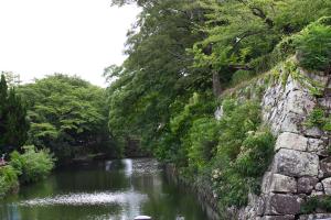 05_05.姫路城・葉月内堀1