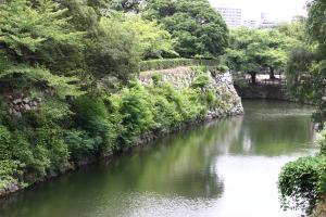 06_06.姫路城・葉月内堀2