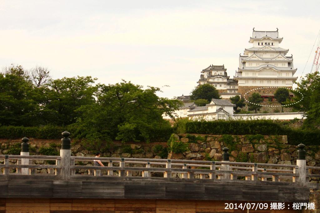 04_姫路城改修工事・桜門橋(2014/07/09)
