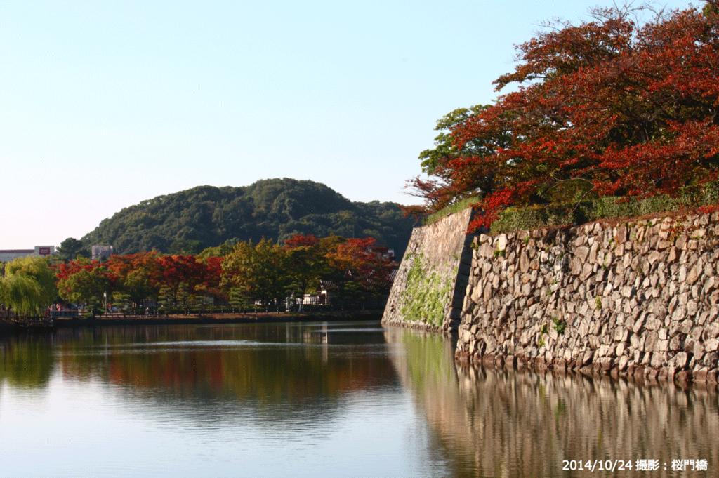 03_桜門橋からの紅葉(B)