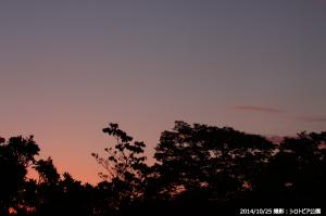 03_シロトピア公園からの朝焼けの空(C)