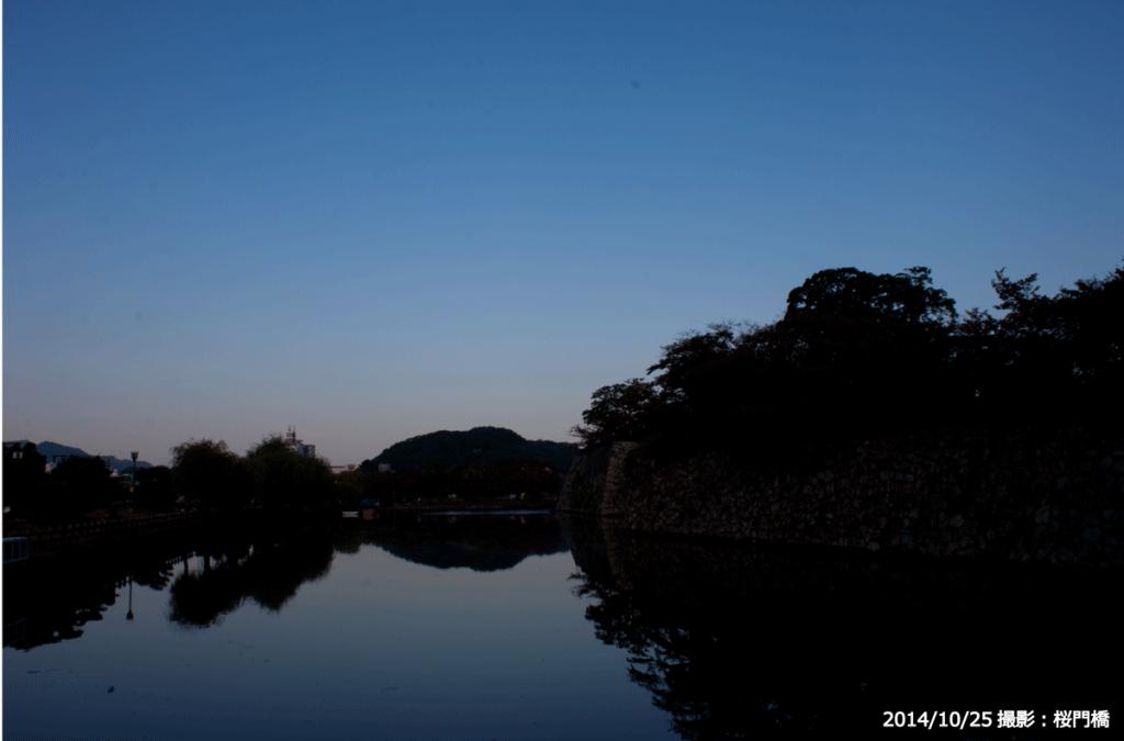 19_桜門橋からの堀(I)