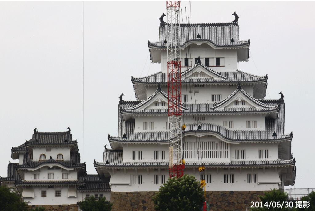 06_姫路城正面(2014/06/30)