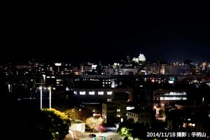 03_手柄山からの姫路市街と姫路城