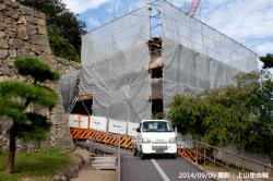 05_太鼓櫓とりの門工事風景