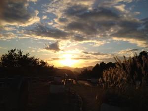 14_夕日がそもそもイマイチ