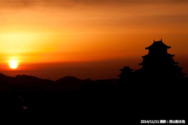 06_日の出と姫路城