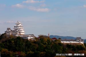 09_姫路城撮影(全景ズーム)