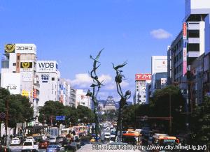 07_姫路城十景・大手前(出典:姫路市)