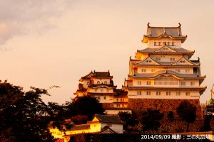 05_姫路城夕景