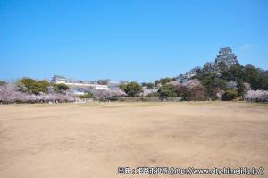 09_姫路城十景・三の丸(出典:姫路市)