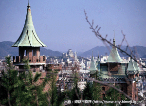 01_姫路城十景・手柄山(出典:姫路市)