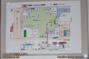 JR姫路駅・2F 新幹線改札内(新幹線⑪番線下)・コインロッカー ...